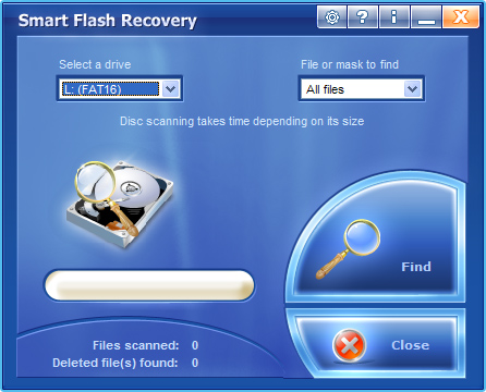 Select Flash Drive