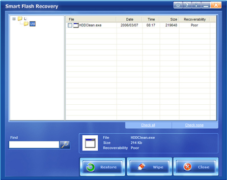 how to recover files from lexar flash drive