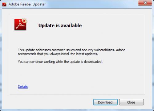 Adobe Update Program