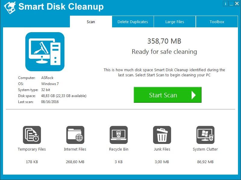 Smart Disk Cleanup 2