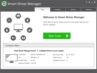 Driver Manager Scan
